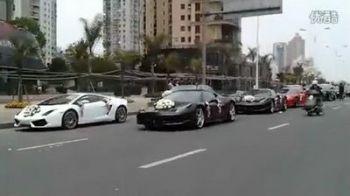 VIDEO FABULOS! Masini demilioane de euro la o nunta in China!