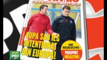Steaua refuza Europa daca nu ia Cupa! Citeste in ProSport-ul de marti planul pentru ultimele doua etape in Ghencea: