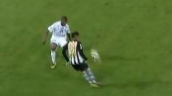 GENIAL! Neymar a reusit o noua bijuterie! L-a lasat masca pe Dayro Moreno! VIDEO