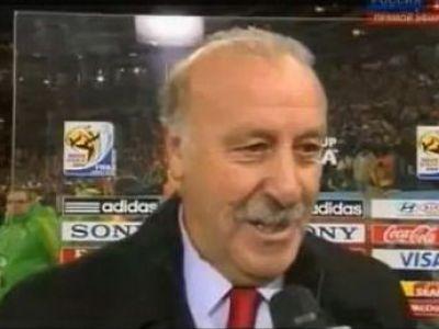 SUPER VIDEO! Moldovenii, campioni mondiali la BAUT? Vezi ce parere are antrenorul Spaniei, Vicente del Bosque! :))