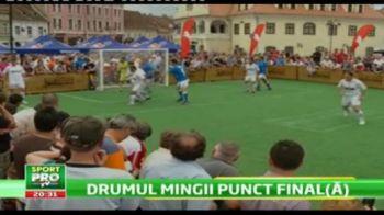 VIDEO Legendele Cupei au facut SHOW la Brasov in ziua finalei! Vezi executia lui Cartu!