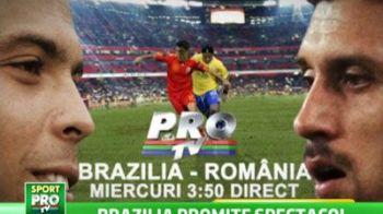 Brazilia n-a mai dat gol de 3 meciuri! Ronaldo revine pe teren sa DISTRUGA Romania! Promisiunea pe care le-a facut-o fanilor: