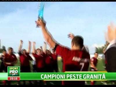 Romani de Champions League in rugby! Doua echipe din Romania au jucat finala in Ungaria! Ce au facut la imn: