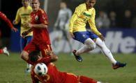 Romania l-a retras pe Ronaldo in fata a 30.000 oameni! Am avut o bara si puteam egala: Brazilia 1-0 Romania! VIDEO: