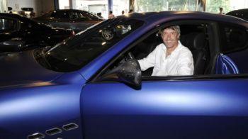 FOTO / Mai pleaca de la Modena? Bergodi a fost in vizita la uzina Maserati cu jucatorii!