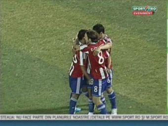 """Iovan: """"Am fost NET inferiori Paraguayului"""" VIDEO: Golurile lui Valdez si Santa Cruz care ne trimit in urna a 4-a!"""