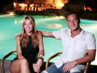 TOTI viseaza la ea, TOTTI o are! Cum a cucerit-o pe cea mai frumoasa prezentatoare din Italia!