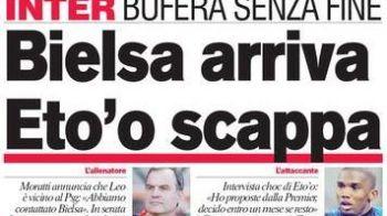 """Anunt BOMBA la Inter: Eto'o pleaca! """"Ma pregatesc sa joc in Premier League"""""""