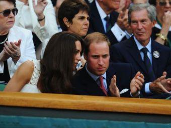 FOTO / Galerie selecta pentru Murray la Wimbledon: Printul William si Kate au venit la meci!