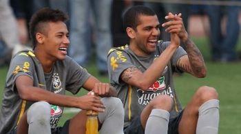 Neymar L-A SOCAT pe Dani Alves! NU vrea sub nicio forma sa joace la Barca! Care e alegerea super-atacantului!