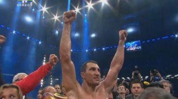 VIDEO ISTORIE in box! Klitschko e CEL MAI PUTERNIC om din lume! L-a zdrobit pe Haye si a unificat PATRU centuri mondiale!