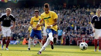 VIDEO Neymar e pustiul din cartier pe care-l iubeste TOATA Brazilia! Motivul pentru care va refuza MILIOANELE de la Real si City!