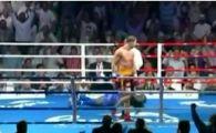 Acesta este cel mai frumos KO al lui Bute! REACTIA comentatorilor straini: