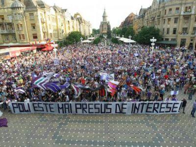 Fanii lui Poli l-au reclamat pe Mircea Sandu la DNA! 18.30 PROTEST in Piata Operei: Fanii Timisoarei ies in strada!