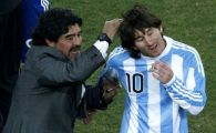 "VIDEO: Supermelodie i-au facut argentinienii lui Messi! ""Mano de Dios"", cantata de Maradona, ramane insa UNICA! Asculta-le aici"