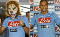 VIDEO TARE! Cel mai DERUTAT jucator la prezentare! Napoli a aratat ultima achizitie cu masca de leu pe fata! :))