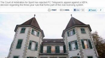 Reactia lui Iancu dupa anuntul UEFA care lasa Timisoara afara din Liga I si Europa pana in 2014!