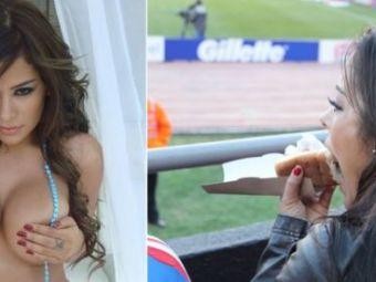 "FOTO! Larissa Riquelme intr-un nou pictorial HOT... DOG :) Cum s-a INGRASAT 10 kg in timp record: ""Acum sunt si mai sexy"""