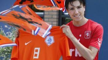 Ii copiaza miscarile lui Messi, Chelsea l-a vrut, e unul dintre cei mai TARI pusti din Olanda si vrea sa lase Romania fara o echipa in EUROPA!