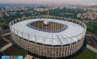 SUPER FOTO / National Arena il asteapta pe Messi! Cum arata noul stadion din elicopter!