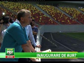 Propunere DE AUR pentru inaugurarea National Arena! Care ar fi meciul care ar aduce 55.000 de romani in tribune: