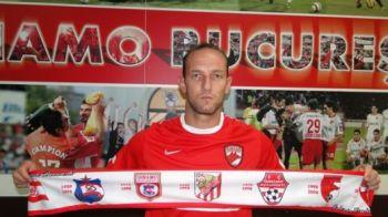 """VIDEO! New Dinamo incepe cu un jucator de 32 de ani: Dorel Stoica, transferat oficial! Primele imagini: """"Sper sa iau titlul aici"""""""