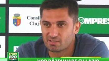 Se antreneaza cu Lazio inainte de Steaua! Cel mai tare amical pentru U Cluj cu o echipa care vrea titilul in Serie A: