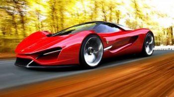 VIDEO FABULOS! Un pusti de 20 de ani a construit cel mai spectaculos Ferrari din istorie! Imagini superbe