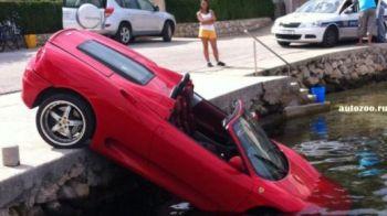 Rar vezi asa ceva! Asta e cel mai prost sofer din lume: cum a distrus un Ferrari de 120.000 euro!