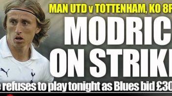 INCREDIBIL! Luka Modric refuza sa joace impotriva lui Man United pentru ca nu e lasat sa plece! Reactia celor de la Tottenham: