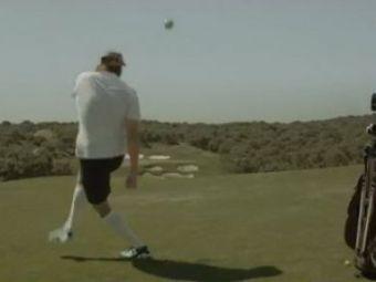 VIDEO Forlan n-are nevoie de crose! A inventat un nou sport: FOOTGOLF! :)