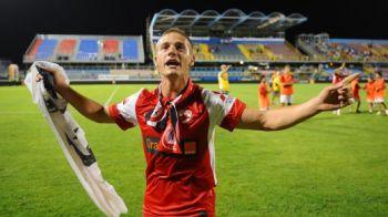 Cel mai frumos ADIO pentru Torje! A pasat la golul victoriei si a injurat Steaua cu fanii dinamovisti!