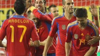 VIDEO Spania s-a calificat la EURO dupa 6-0 cu Liechtenstein! Vezi ce SHOW au facut campionii mondiali!