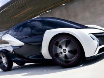 FOTO:Prototip misteriosla Frankfurt! Masina fara nume!