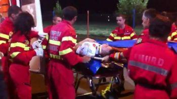 VIDEO HORROR! Un jucator, luat de URGENTA cu ambulanta de pe teren la meciul Tg. Mures - Astra! Vezi verdictul medicilor!