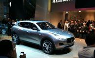 FRANKFURT 2011! Surpriza anului!Maserati a lansat primul SUV din istorie!
