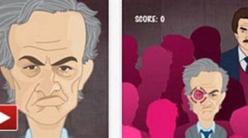 """VIDEO Cel mai tare joc pentru iPhone! """"Scoate-i OCHII lui Mourinho"""" e noua senzatie din Spania! Vezi cum arata:"""