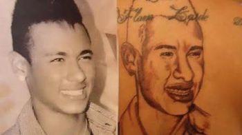 FOTO INCREDIBIL! Si-a distrus spatele din prea multa dragoste pentru Neymar! Ce tatuaje oribile si-a facut: