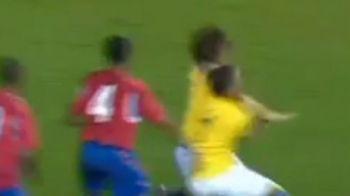 VIDEO: Nici nationala din Liechtenstein nu pateste asa ceva! Un super jucator a oferit momente PENIBILE la nationala Braziliei