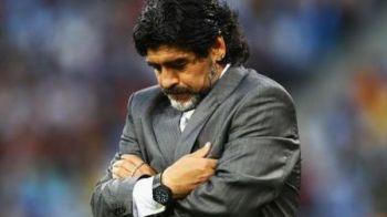 Maradona se poate apuca sa invete injuraturi in romana :) Dupa ce a fost batut de Ion Marin cu 5-0, un alt roman il poate face de ras la arabi!