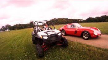 VIDEO: Baietii stiu sa se distreze ! Cursa de vis intre un Ferrari si un ATV !