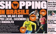 Milan, Inter si Juventus scot 60 de milioane de euro pe 3 brazilieni de senzatie de la Sao Paulo