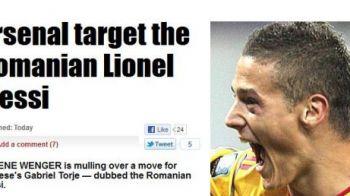 """Englezii anunta BOMBA: """"Arsenal il vrea pe <Messi> de Romania!"""" Cum poate ajunge Torje cel mai scump transfer de la venirea lui Wenger la Arsenal:"""