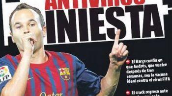 Momentul asteptat de toata Spania! Va fi afectata Barca de VIRUSUL FIFA? Racing Santander te poate IMBOGATI! Vezi ce cota uriasa are!