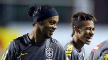 Ronaldinho si Neymar, NECONVOCATI la nationala Braziliei! Kaka, chemat pentru prima data dupa 15 luni! Lotul Braziliei: