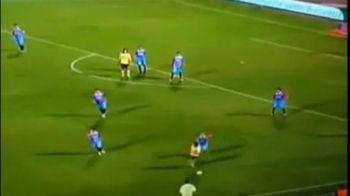 VIDEO GAFA UIMITOARE a lui Lavezzi! Toata lumea a ras de el! A pasat unui jucator care se incalzea pe margine!