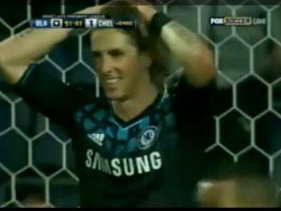 "VIDEO Faza care i-a facut pe englezi sa exclame: ""Nu din nou!"" Inca o ratare MONSTRUOASA a lui Torres!"