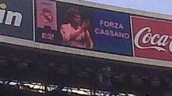 FOTO! Moment emotionant la Madrid pentru Cassano: ce tricouri au purtat starurile lui Real