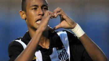 "FABULOS! Cum a fost convins Neymar sa semneze prelungirea cu Santos: ""Mourinho te obliga sa te tunzi!"" :)"