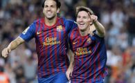 VIDEO Barca pune presiune pe Real si asteapta un pas gresit! Barcelona 4-0 Zaragoza! Pique, Messi, Puyol si Villa au inscris!